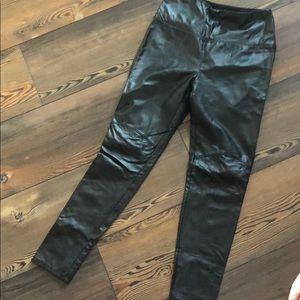 Lysee leather look leggings